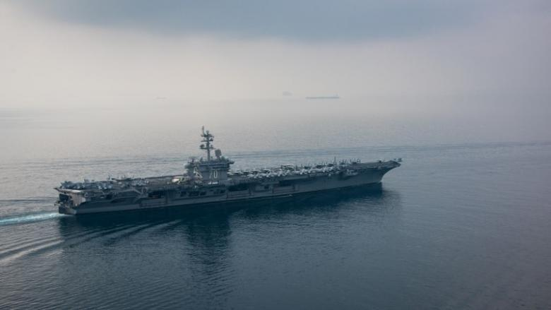 North Korea says ready to strike US aircraft carrier