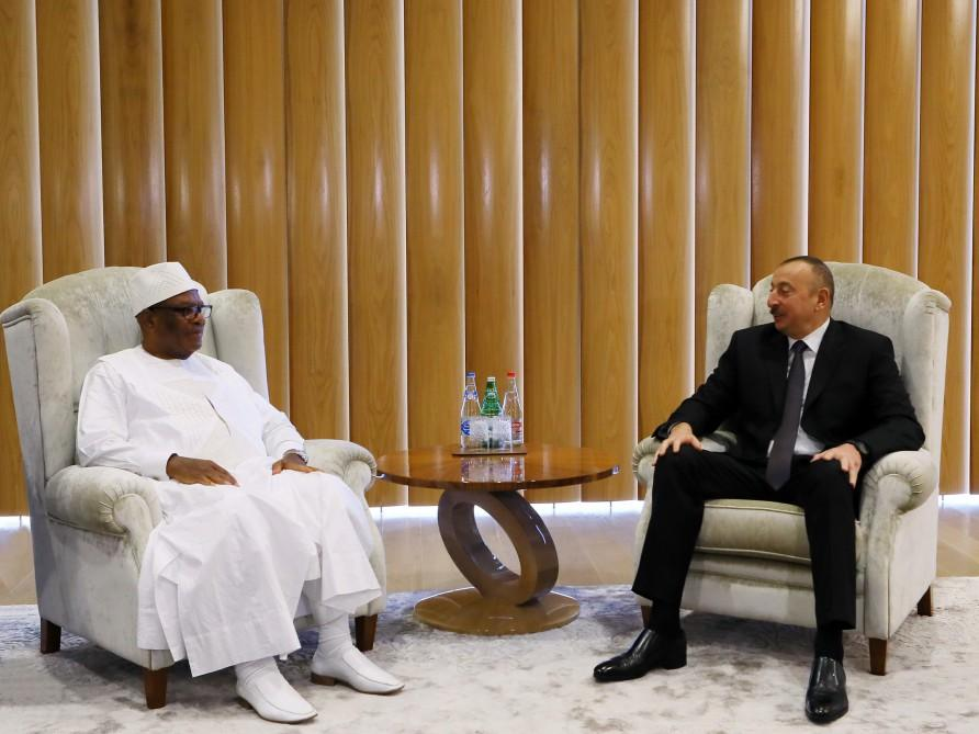 Ilham Aliyev hails good opportunity to develop relations with Mali (PHOTO)