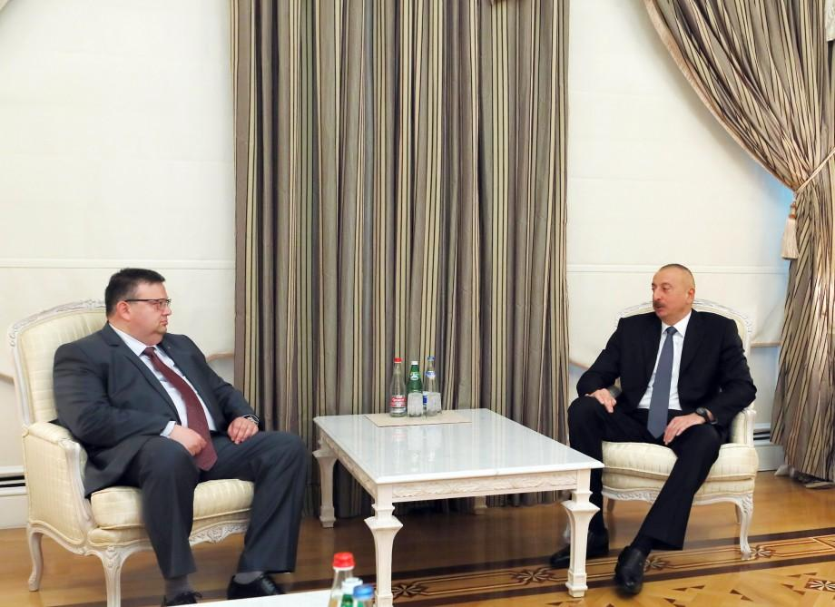 Prezident İlham Əliyev Bolqarıstanın baş prokurorunu qəbul edib