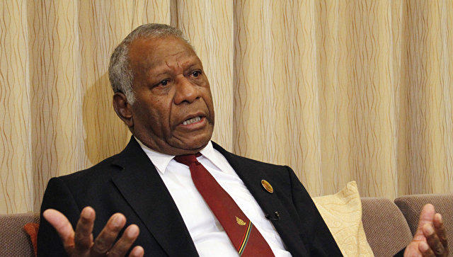 Vanuatu's president dies after sudden heart attack