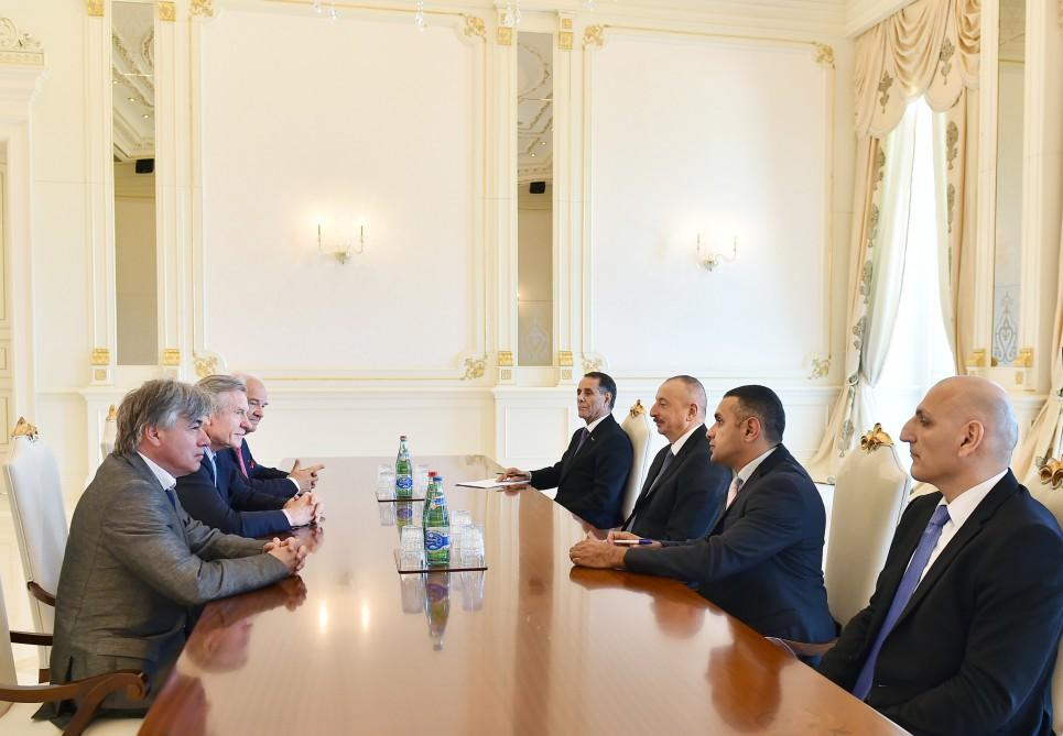 President Ilham Aliyev received editor-in-chief of Russian