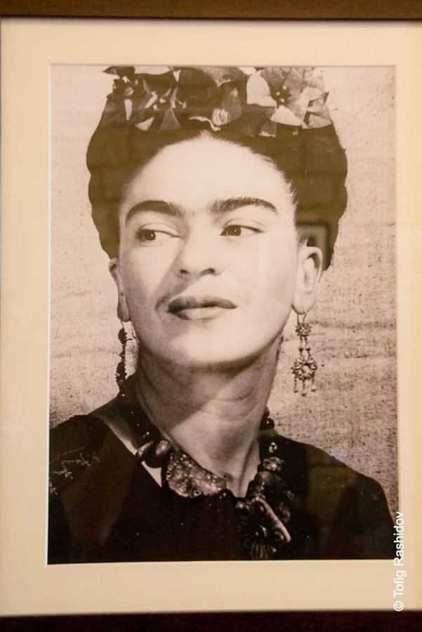 Баку-Мехико:  фотовыставка Фриды Кало в Ичери шехер