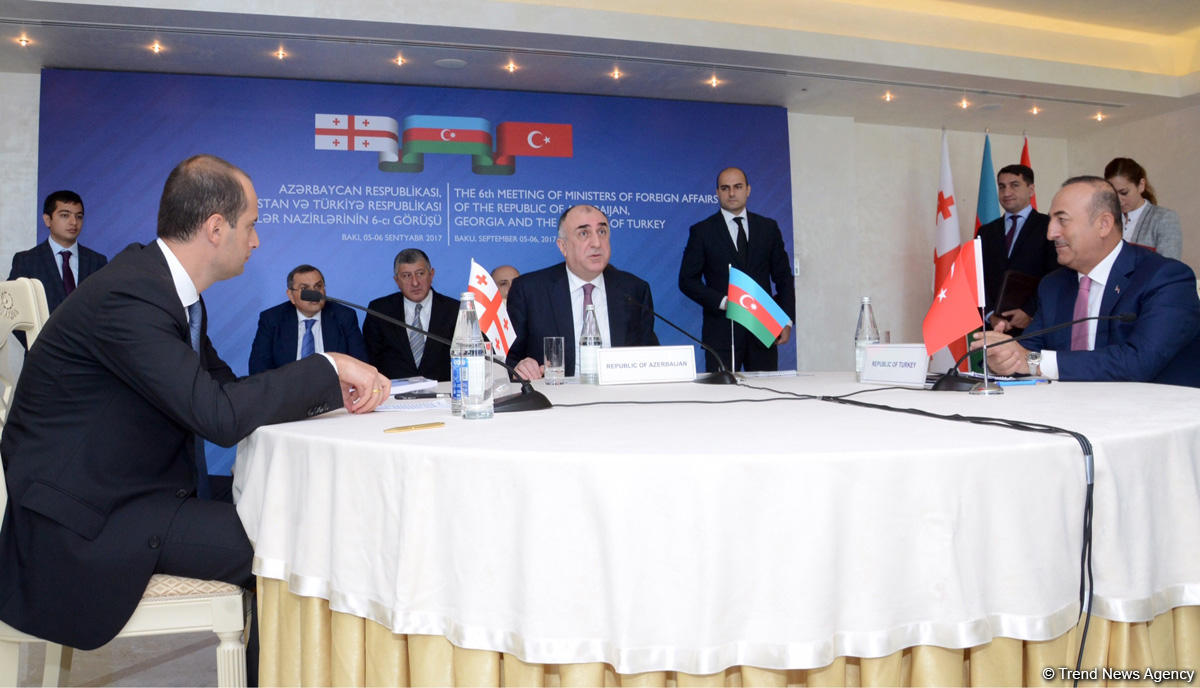 Baku hosts meeting of Foreign Ministers of Azerbaijan, Turkey and Georgia