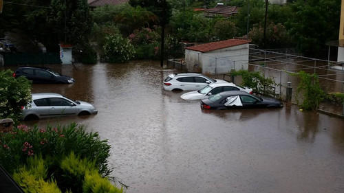 Deadly floods claim at least 14 lives in central Greece
