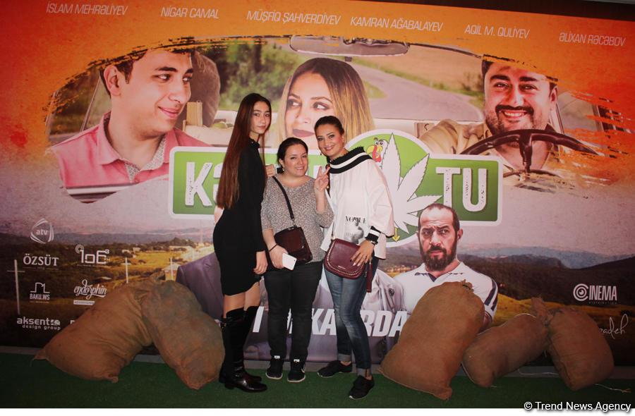 Гала-вечер ожидаемого комедийного фильма «Kəklikotu»