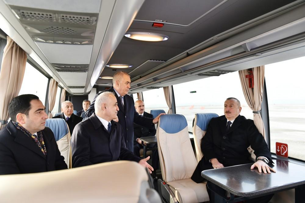 Ilham Aliyev attends opening of RO-RO terminal at Port of Baku (PHOTO)