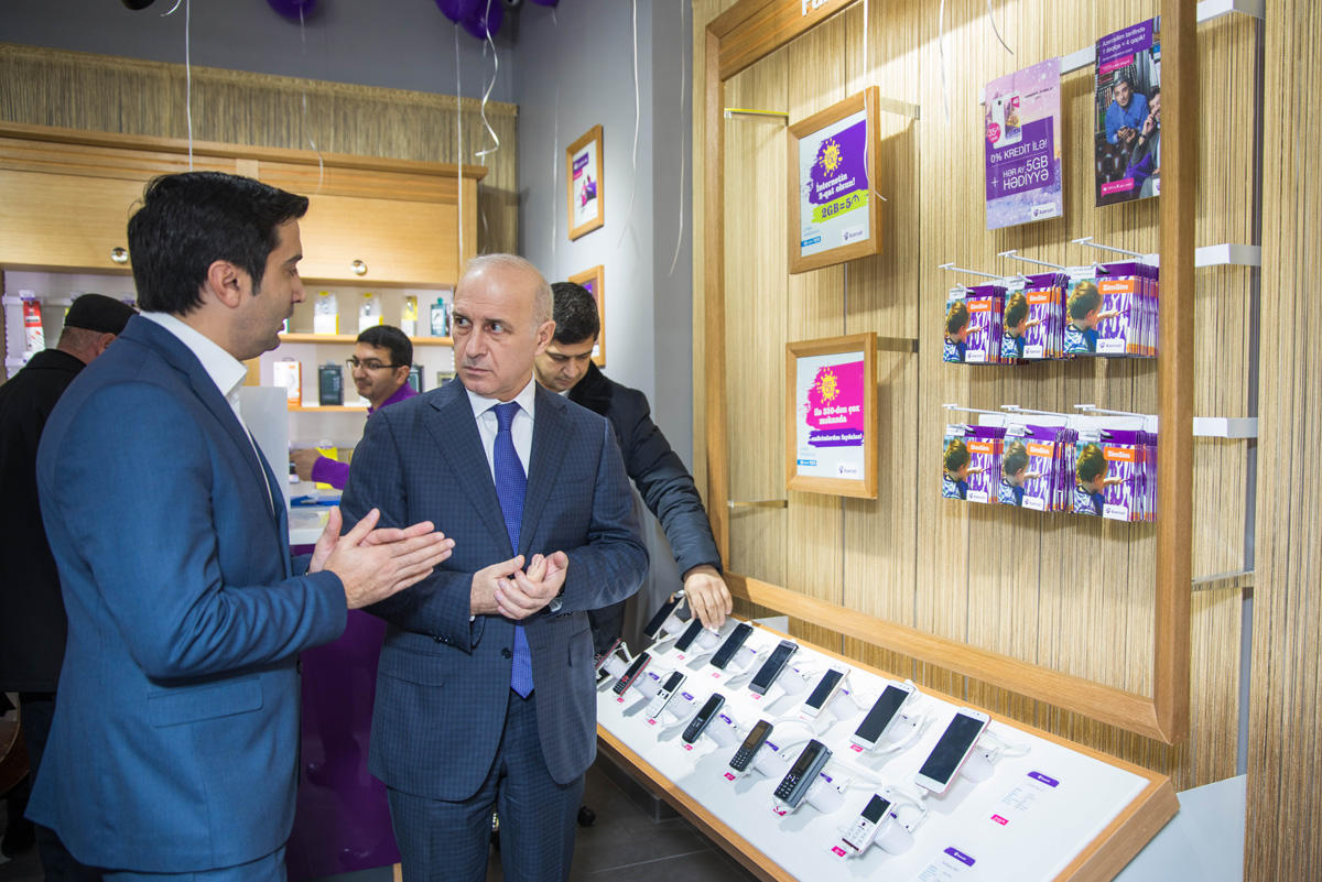 New Azercell Exclusive store opened in Mardakan (PHOTO)
