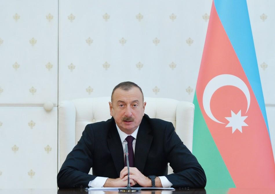 President Aliyev chairs Cabinet meeting on results of socioeconomic development of 2017, future goals (PHOTO)