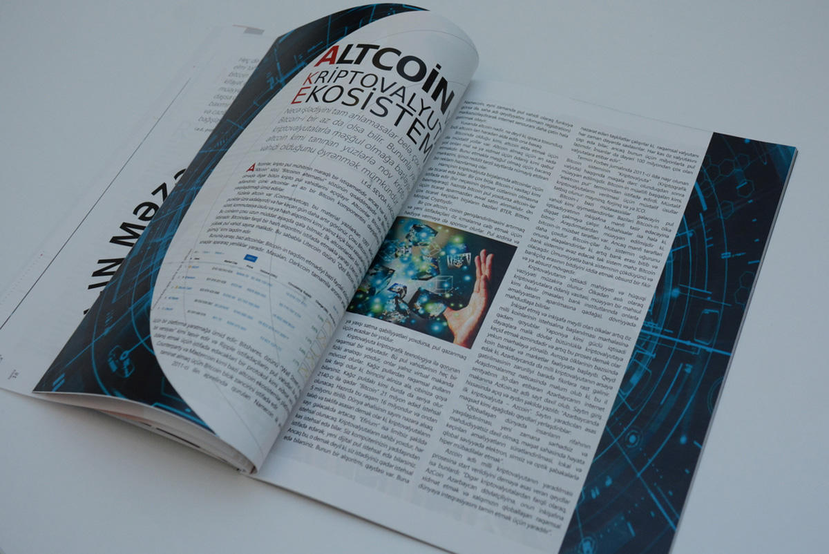 """Special edition of """"UNEC Expert"""" magazine: """"Crypto Currency"""" (PHOTO)"""