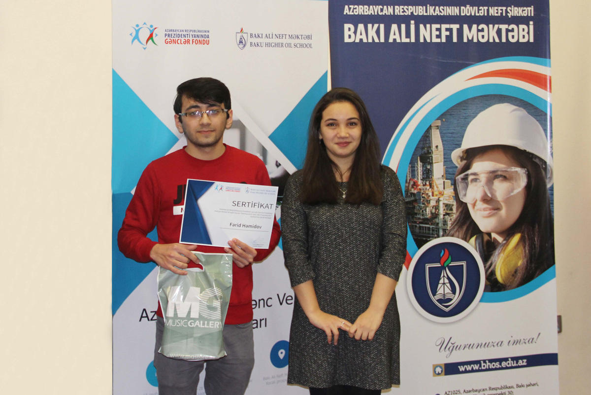 BHOS student implements Youth Foundation project (PHOTO)