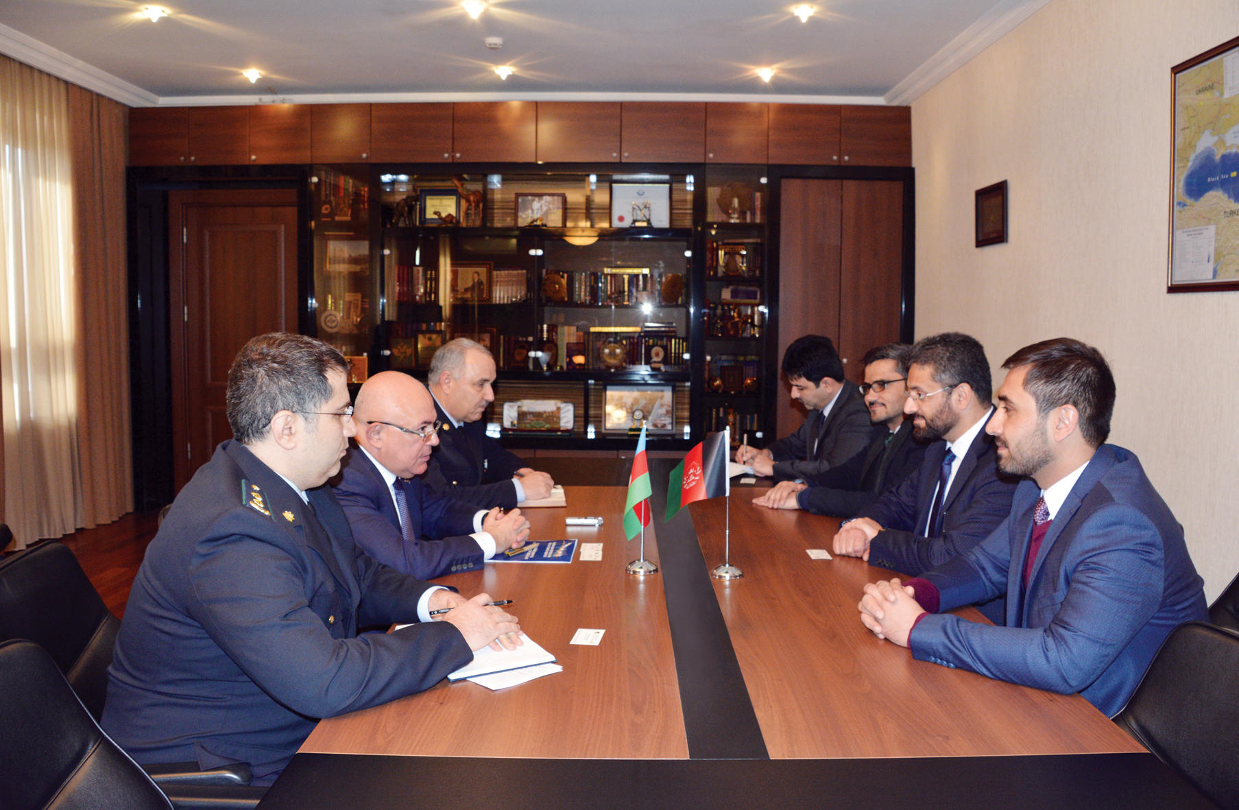 Afghanistan interested in using Azerbaijan's transit opportunities (PHOTO)