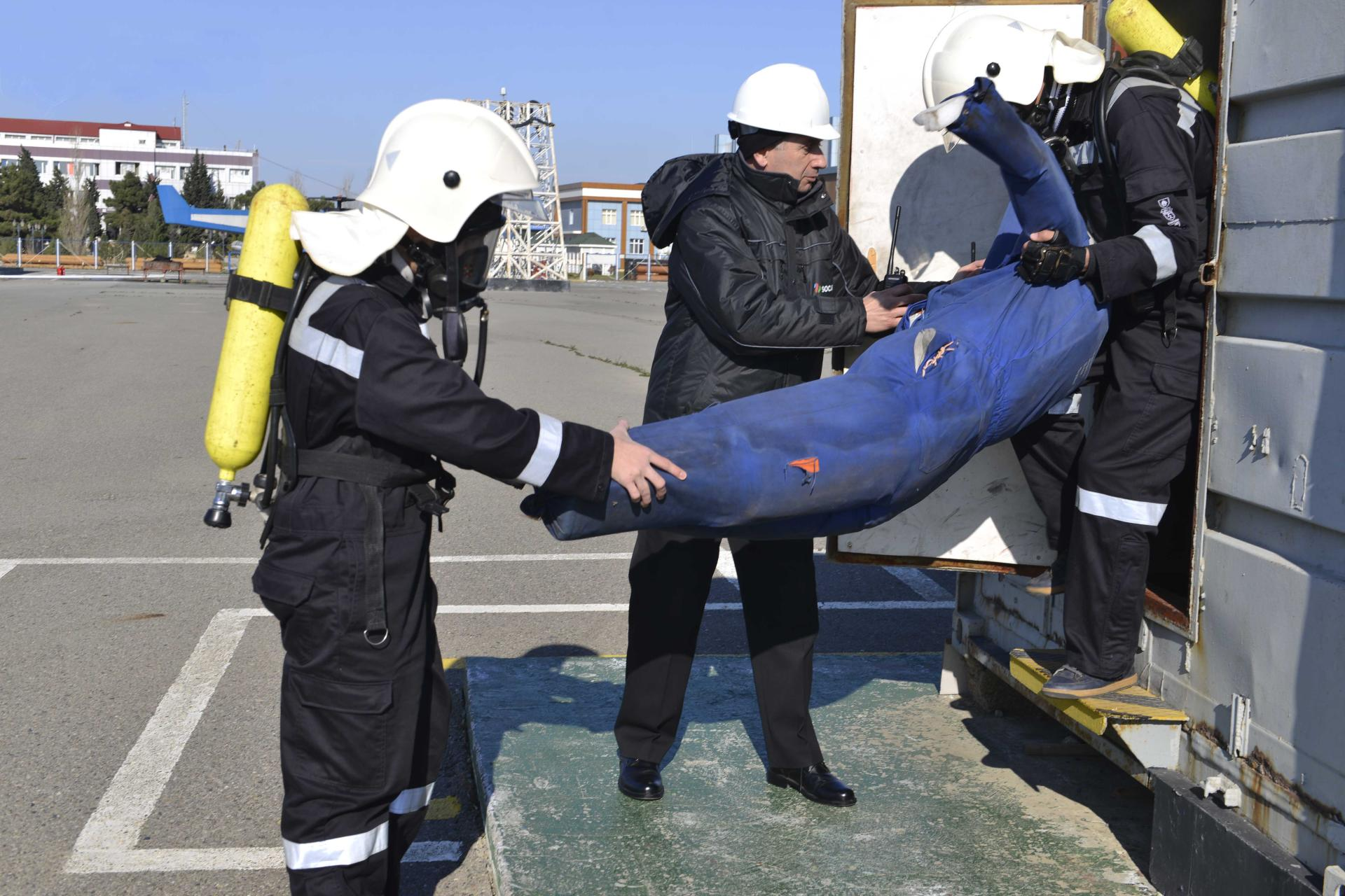 Safety training for BHOS students conducted at SOCAR (PHOTO)