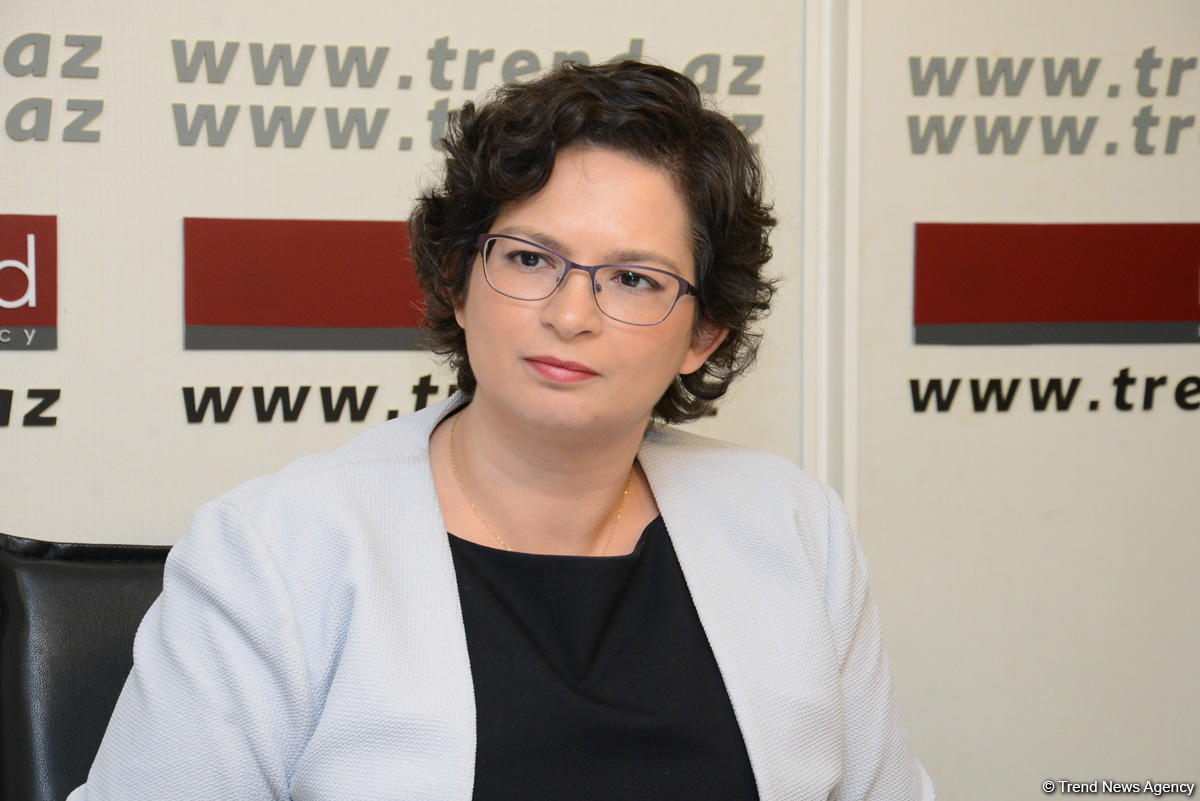 Deputy chief of Israel's diplomatic mission in Baku visits Trend News Agency (PHOTO)