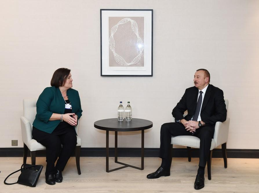 President Ilham Aliyev met with Cisco Executive Vice President