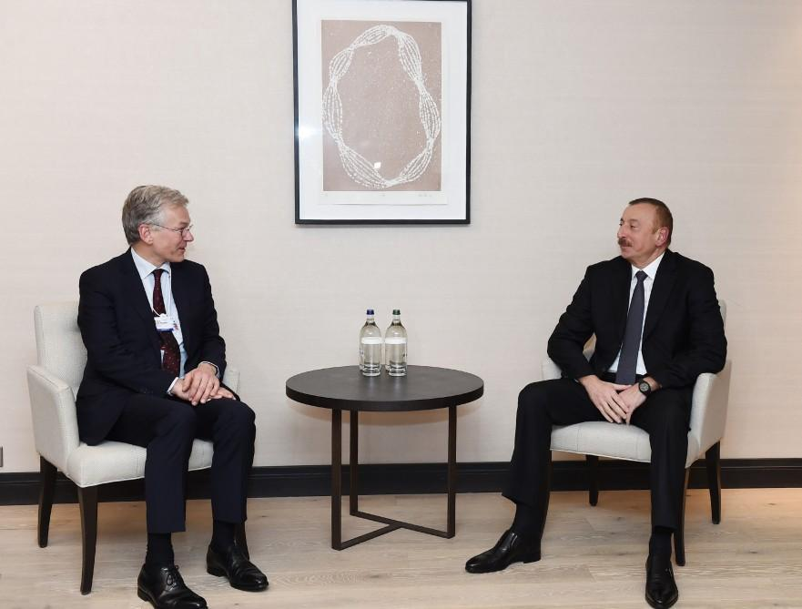 President Ilham Aliyev met with Royal Philips CEO