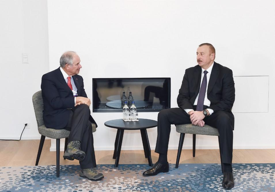 President Ilham Aliyev meets with CEO of American company Blackstone (PHOTO)