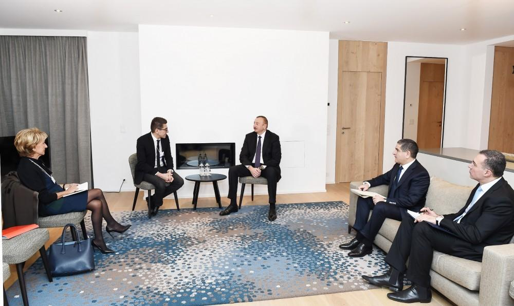 President Ilham Aliyev meets with chairman and CEO of Lazard Freres (PHOTO)