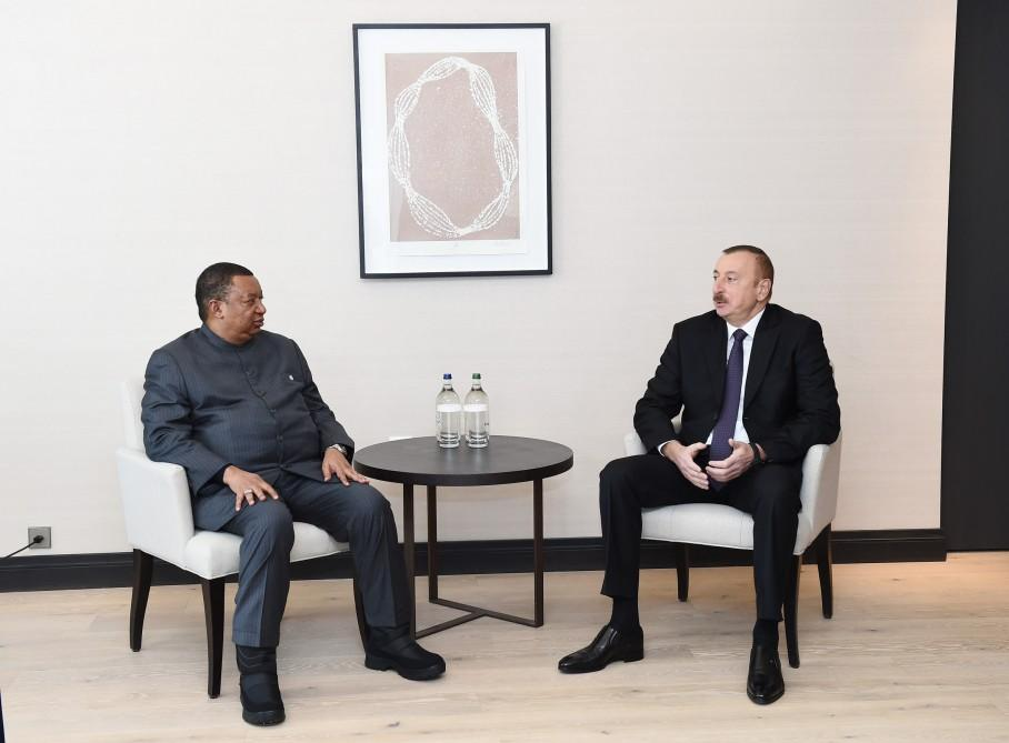 Ilham Aliyev: Azerbaijan to continue successfully cooperating with OPEC (PHOTO)