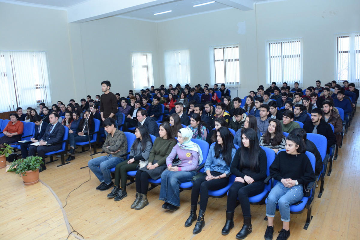 Student of UNEC to get education in Baku within one semester (PHOTO)