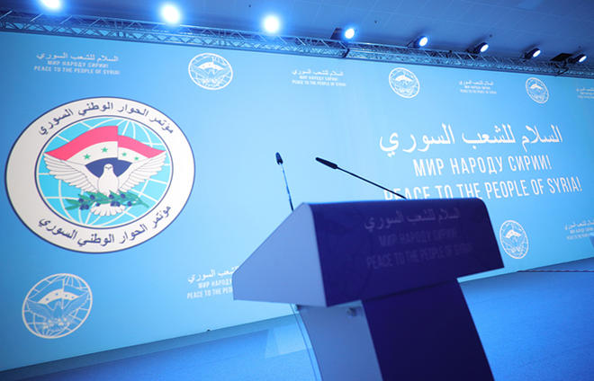 Ankara to represent Syrian opposition at Sochi summit