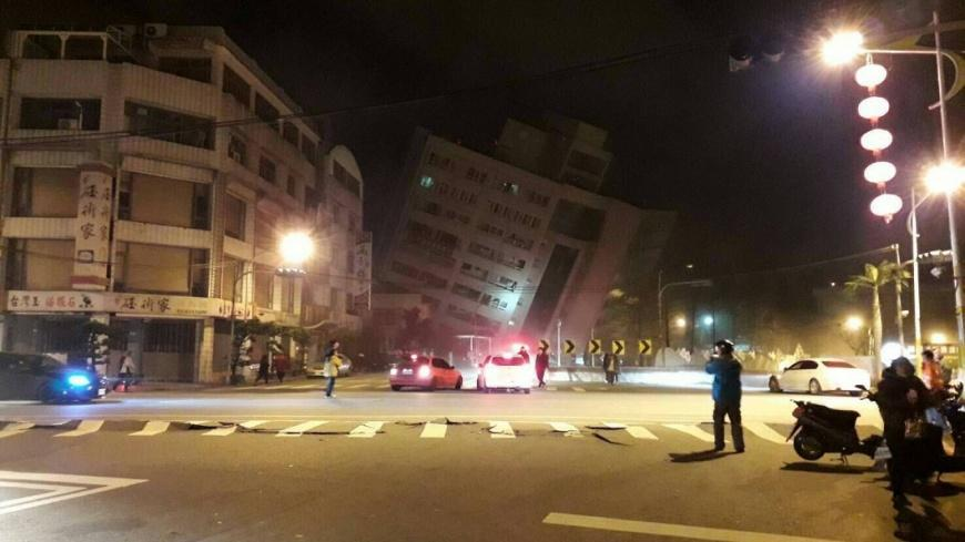 Hotel collapses after 6.4 magnitude quake  hits Taiwan; several feared trapped