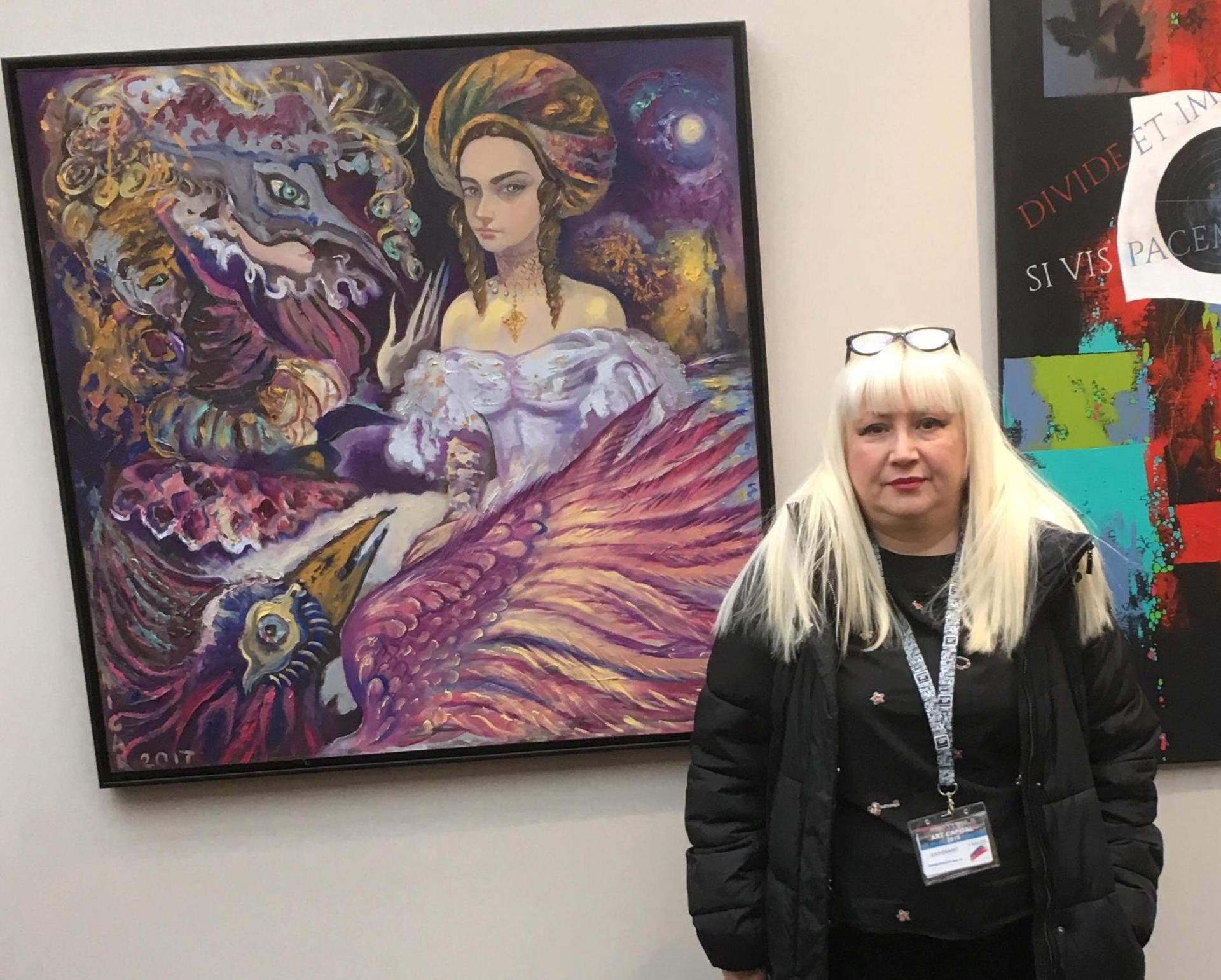 Нигяр Нариманбекова представит свои работы в выставочном зале Свято-Троицкого собора в Париже (ФОТО)