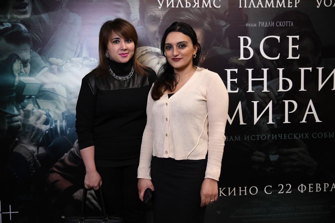 В Баку состоялся показ фильма «Все деньги мира» за два дня до мировой премьеры [Фото]