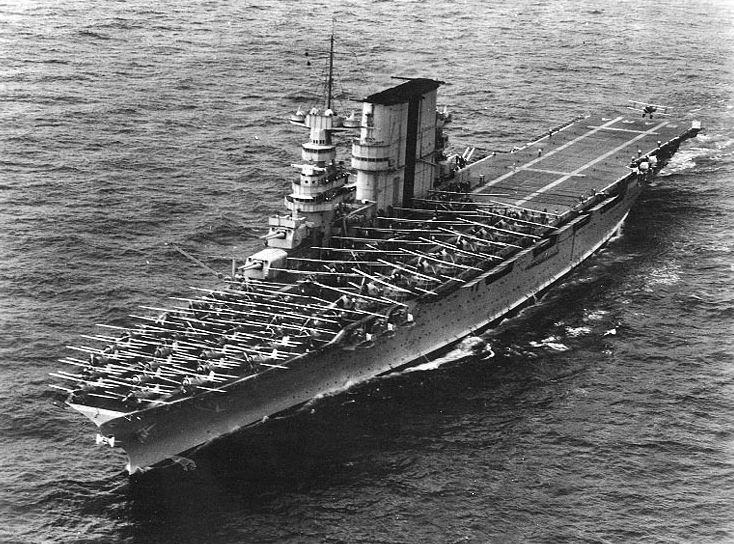 A lost World War II aircraft carrier has been found by one of