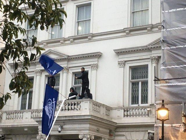 London police arrest 4 for scaling Iran embassy