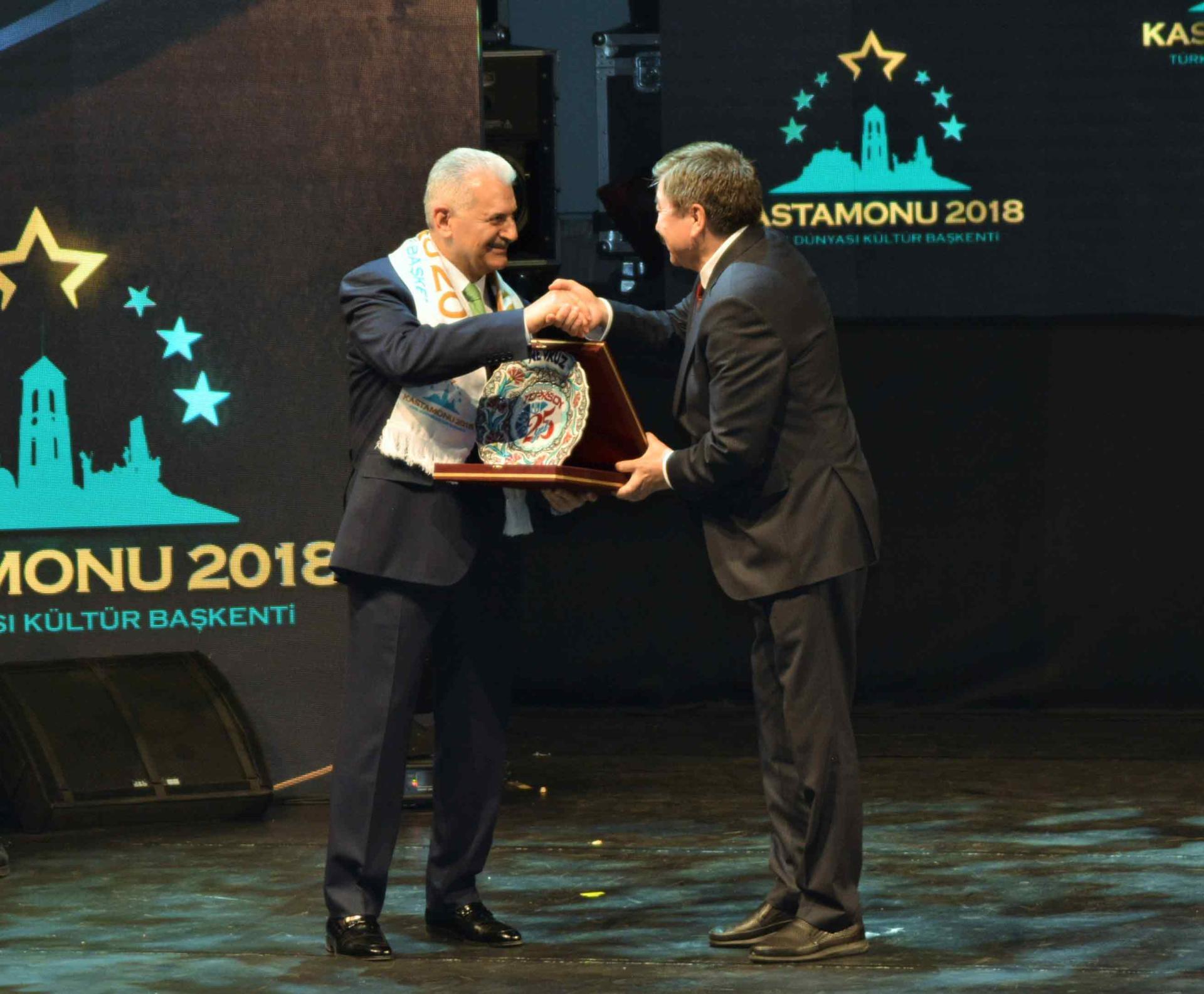 Türk Dünyası Kültür Başkenti Kastamonu'ya Muhteşem Açılış