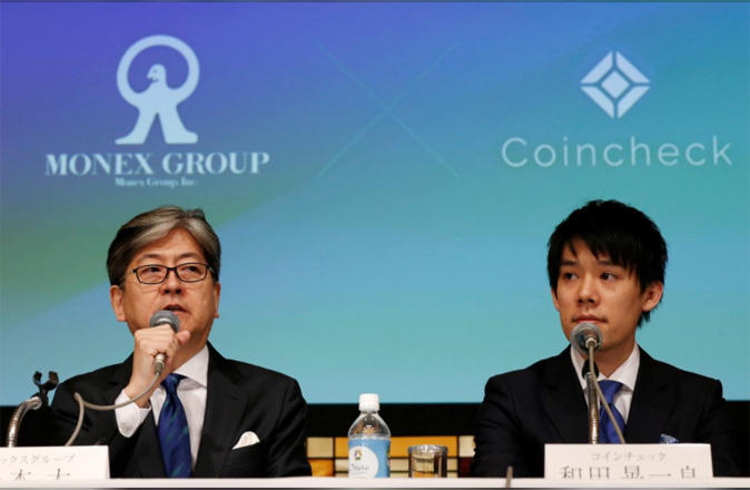 Japanese online brokerage Monex to buy Coincheck