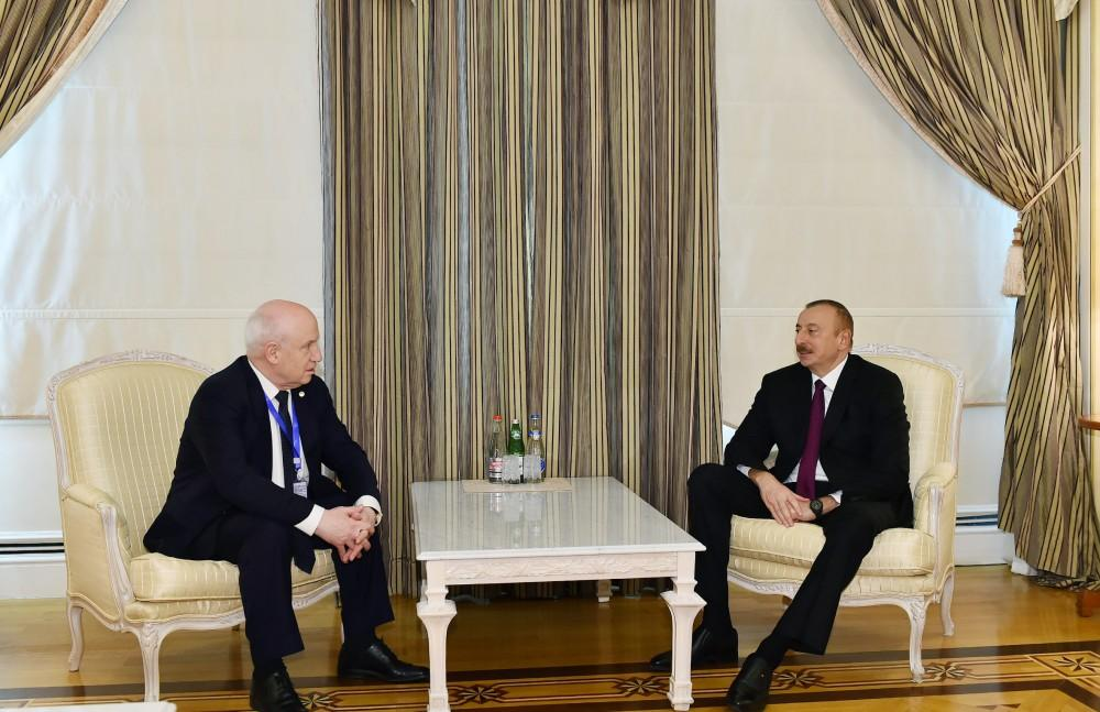 President Aliyev receives chairman of CIS Executive Committee (PHOTO)