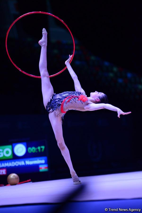 В Баку стартовал международный юношеский турнир по художественной гимнастике (ФОТО)