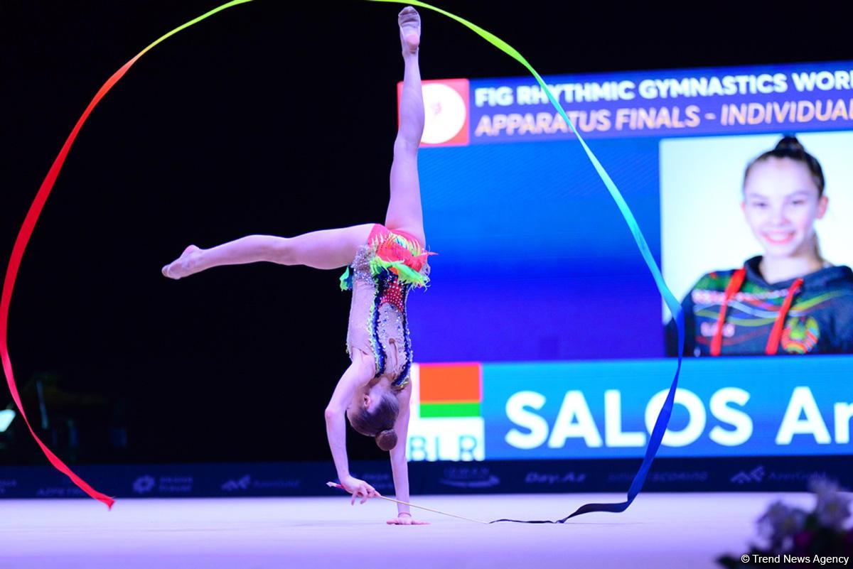 Лучшие моменты последнего дня Кубка мира по художественной гимнастике в Баку (ФОТОРЕПОРТАЖ)