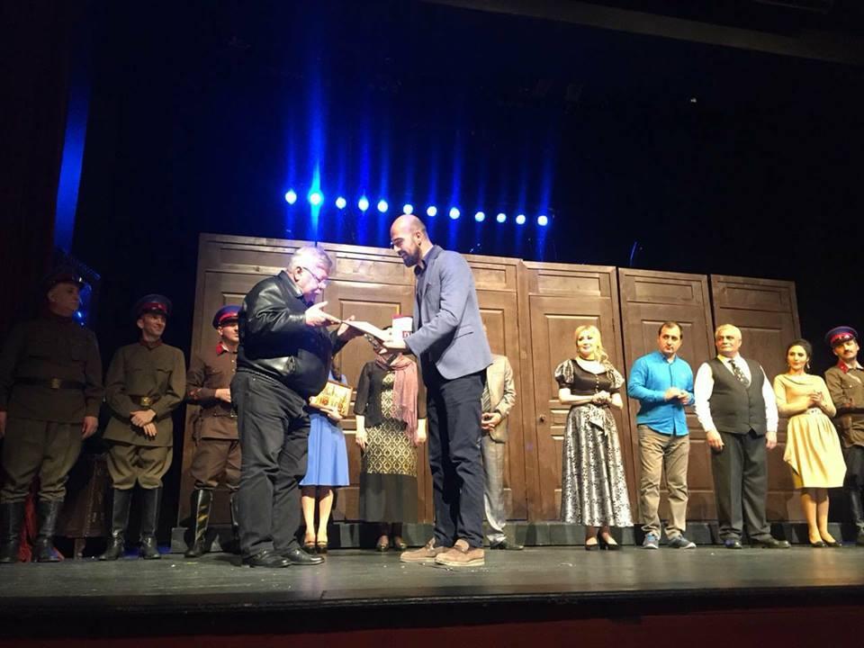 Успех азербайджанских актеров на международном фестивале в Турции (ФОТО)
