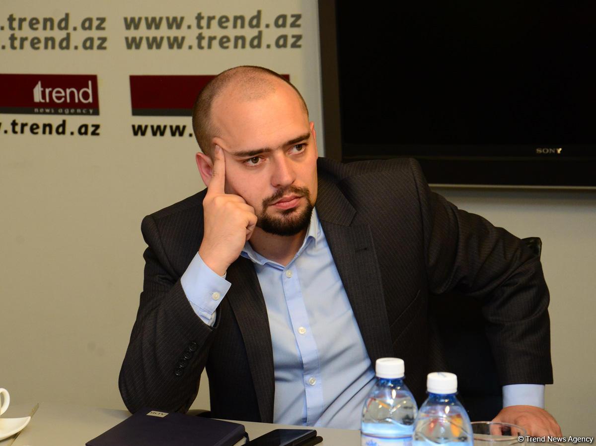 В АМИ Trend прошла встреча с представителями СМИ Грузии (ФОТО)