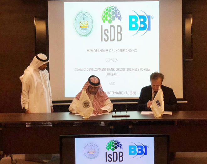 THIQAH, BBI sign MoU to bolster business and investment opportunities