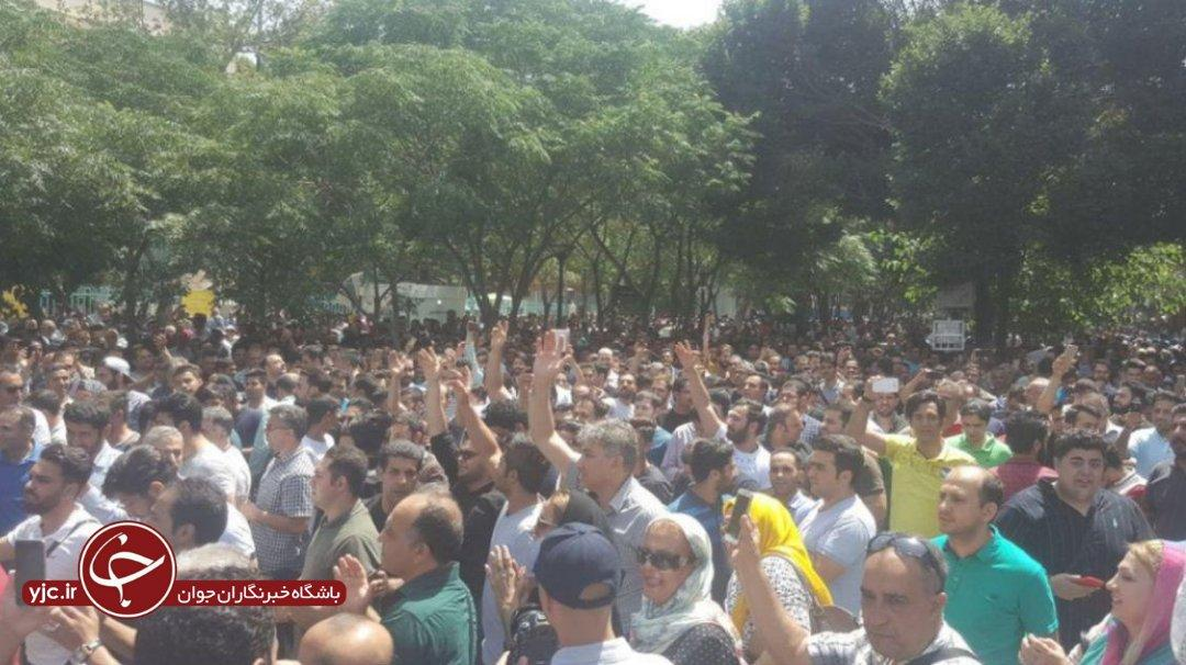 Merchants hold protests in Tehran Bazaar over Iran currency plunge (PHOTO/VIDEO)