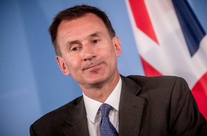 'My wife is Japanese. My wife is Chinese, sorry': Hunt