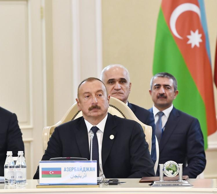 5th Summit of Heads of State of Caspian littoral states held in Aktau (PHOTO)