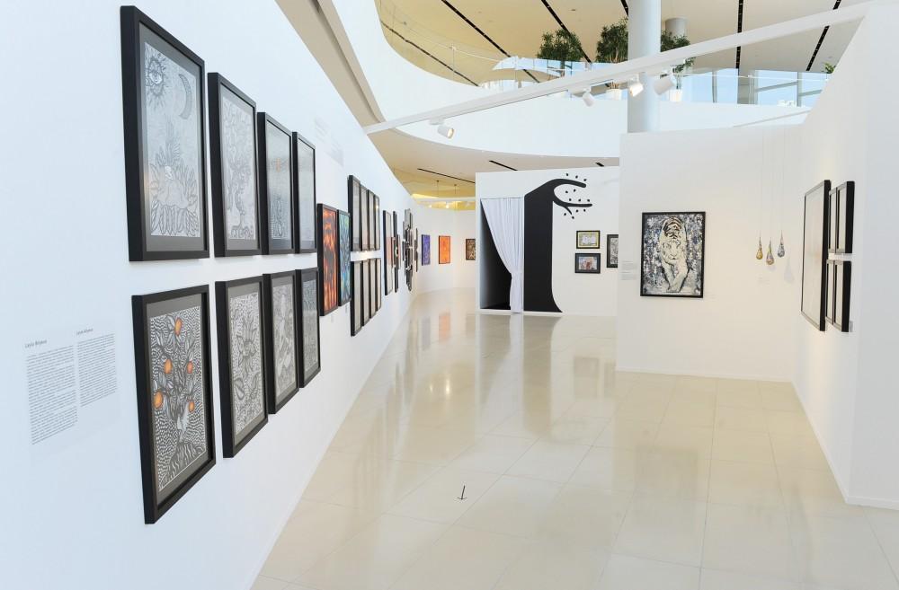 В Центре Гейдара Алиева открылись выставки в рамках Фестиваля поэзии, искусства и духовности – Насими