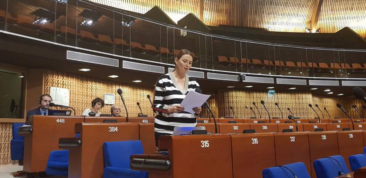 Azerbaijani MP in PACE raises issue of expelling Azerbaijanis from Armenia (PHOTO)