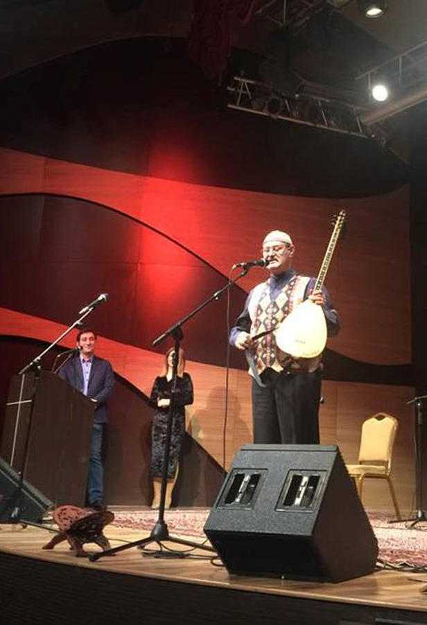 В Баку прошел вечер поэзии тюркского мира (ФОТО)