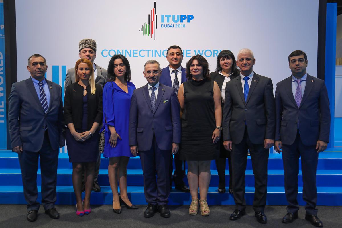 Azərbaycan Beynəlxalq Telekommunikasiya İttifaqının səlahiyyətli konfransında təmsil olunur (FOTO)