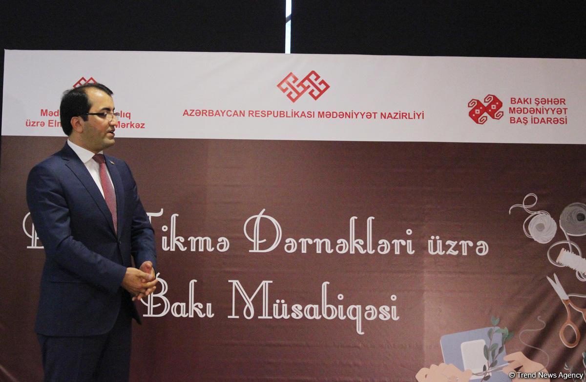 """Bakıda """"Biçmə-tikmə"""" müsabiqəsinin finalı keçirildi (FOTO)"""