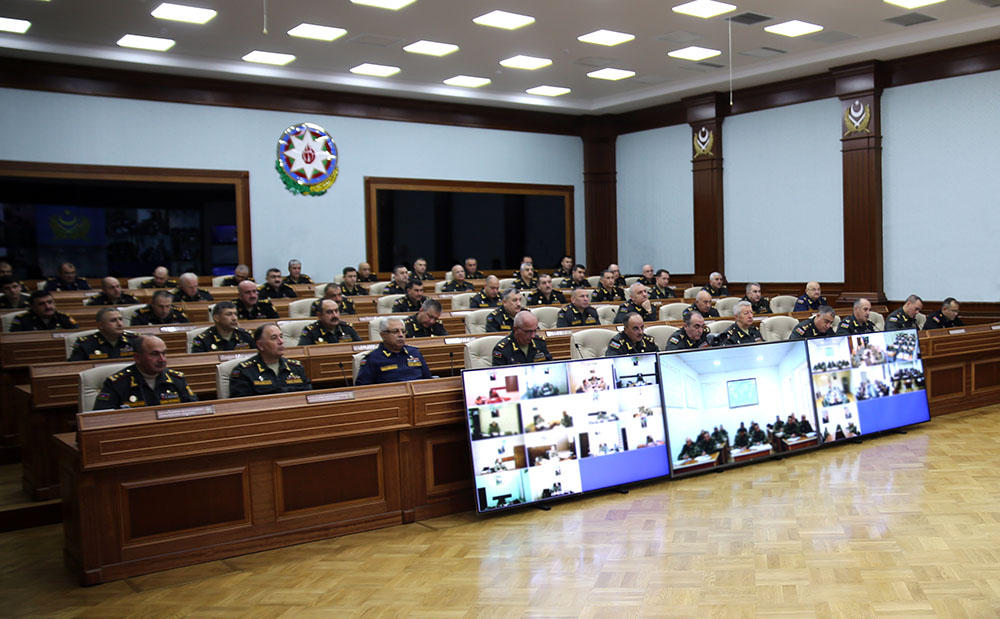 Minister: Main attention must be on using space technology in war games (PHOTO)