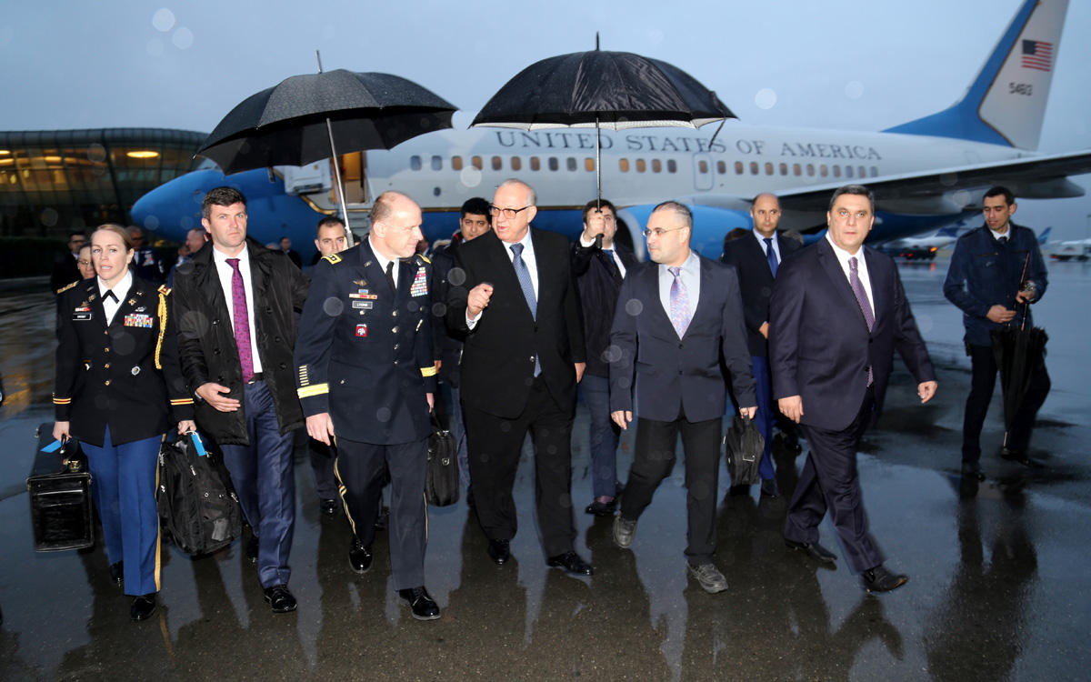 US highly appreciates Azerbaijan's contribution to int'l security (PHOTO)