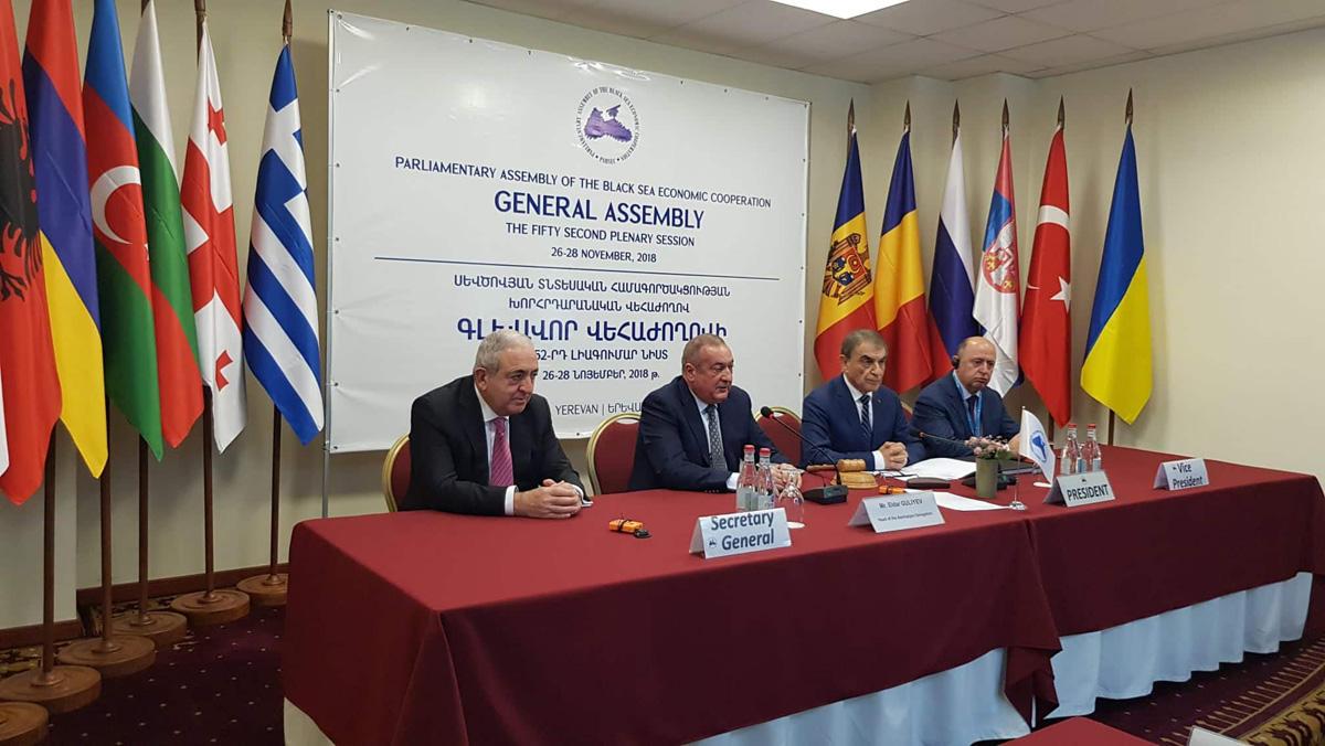 QDİƏT-in Parlament Məclisinə sədrlik Azərbaycana keçib (FOTO)