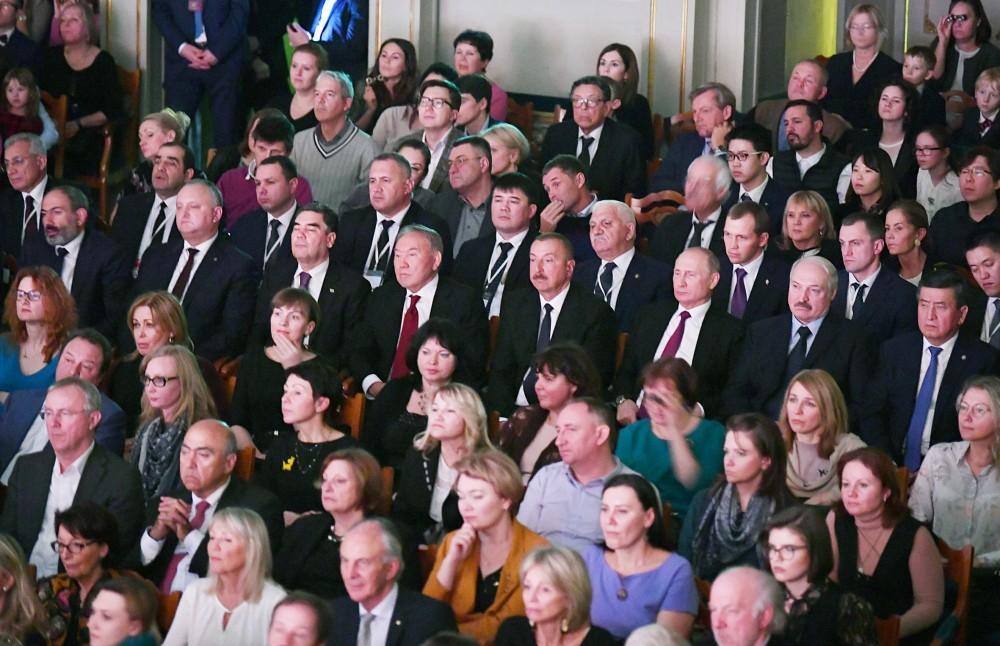 Azerbaijani president's working visit to Russia (UPDATED) (PHOTO)
