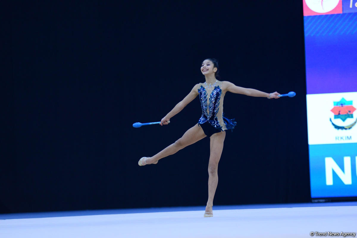 Second day of 25th Azerbaijan Championship in Rhythmic